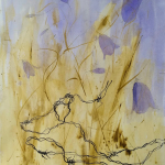 11-Bluebell-barbed-wire2-ink-watercolour-Julie-Wyness