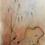 12-Barbed-wire-oats-ink-watercolour-Julie-Wyness