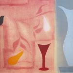 1-Wren-on-Red-Julie-Wyness-printmaking